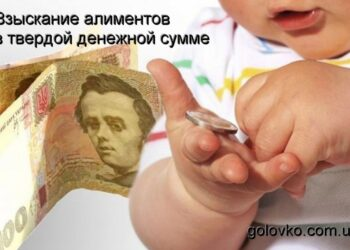 Взыскание алиментов по закону в Украине